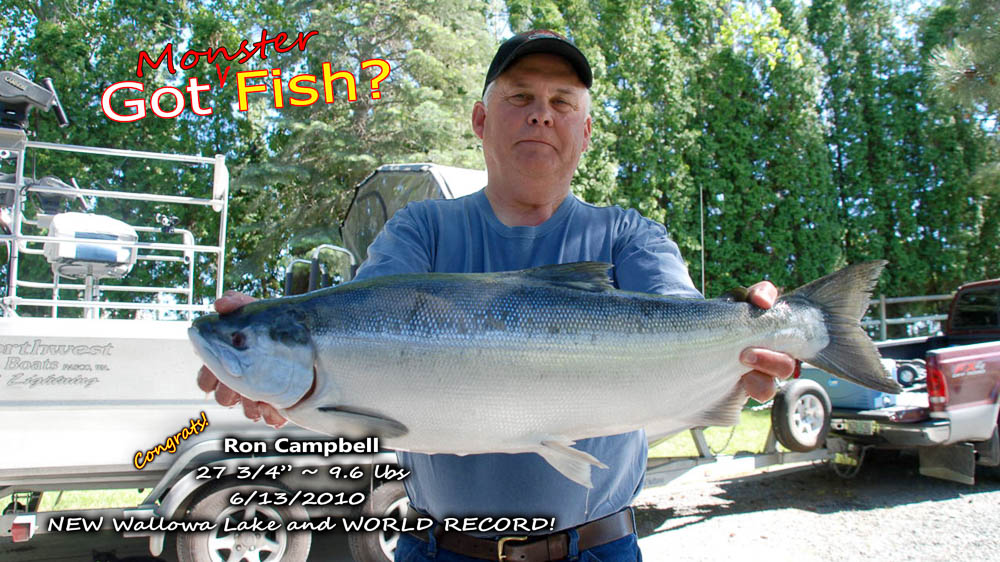 ron campbell jun 2010 world record